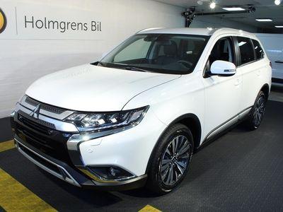 begagnad Mitsubishi Outlander 2.0 CVT 4WD Komfort Plus -19