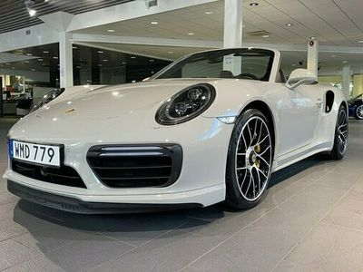 begagnad Porsche 911 Turbo S Cabriolet 991 2018, Cab Pris 1 595 000 kr