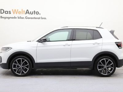 begagnad VW T-Cross - 1.0 TSI 115 DSG GT Komfortpaket 2019, Halvkombi 239 900 kr