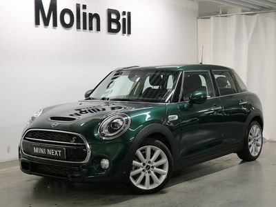begagnad Mini Cooper Hatch S 5-D / Experience / Chili
