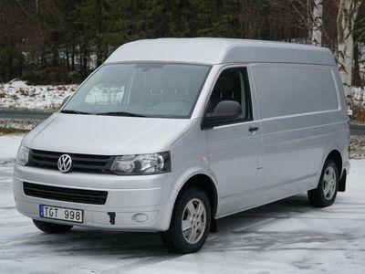begagnad VW Transporter T5 2,0 TDI Lång 3-sits