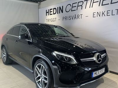 begagnad Mercedes GLE350 350d//Amg-Line//Multibeam//360 kamera//Burmester