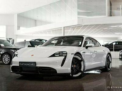 begagnad Porsche Taycan Turbo S DD Kolfiber Sv.såld 2020, Personbil Pris 2 195 000 kr