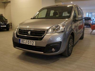 begagnad Peugeot Partner Tepee BlueHDi Automat 5-sits F.d. Demobil
