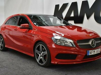 begagnad Mercedes A250 AMG | Sport | Edition | Panorama | kamera | 211hk