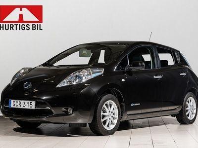 begagnad Nissan Leaf 24kwh Tekna SoV-hjul -16