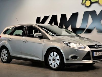 begagnad Ford Focus 1.6 EcoBoost Flexifuel Manuell, 150hk, 2014
