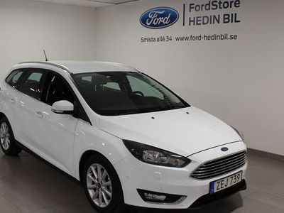 brugt Ford Focus Titanium 1.5TDCI 120HK Kombi