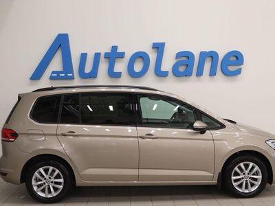begagnad VW Touran 1,6,TDI,7-sits,Drag,V-hjul