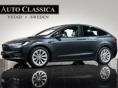 begagnad Tesla Model X 100D ALL UTR INKL FSD 7-sits 1ä -18