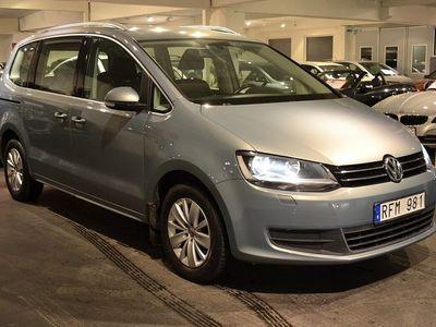 begagnad VW Sharan 2.0TDI Drag 7-sits 140hk