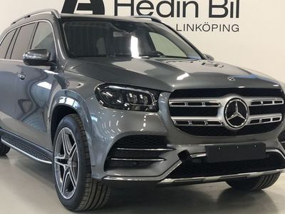 begagnad Mercedes GLS400 D 4MATIC AMG PANORAMA KEYLESS-GO PARKERINGSVÄRMARE DISTRONIC