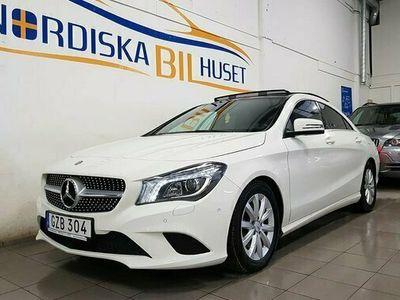 begagnad Mercedes 220 CLA Benzd 4MATIC Auto Panorama tak Euro 6 2016, Sportkupé Pris 239 900 kr