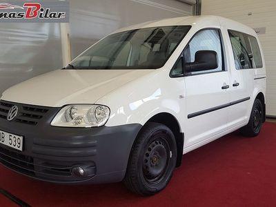 begagnad VW Caddy Life 2.0 EcoFuel 109hk Drag -10