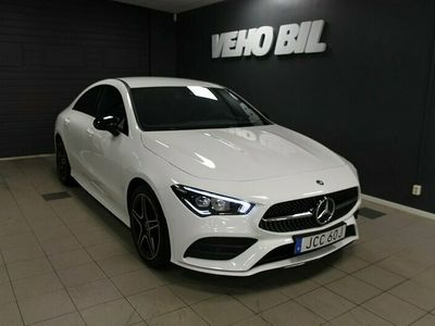 begagnad Mercedes CLA220 Coupe 4-Matic AMG