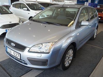 begagnad Ford Focus 1.8 Duratec Flexifuel 125hk Kombi