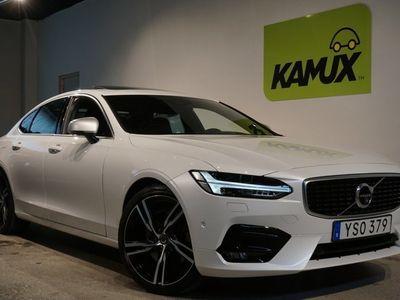 begagnad Volvo S90 T6 AWD R-Design B&W LÅG SKATT SE UTR 320hk