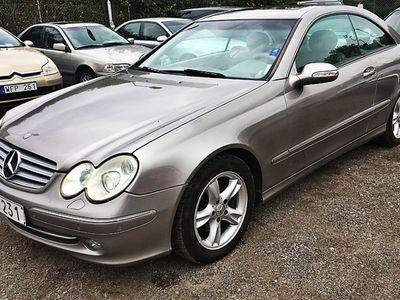 begagnad Mercedes CLK240 2004, Sportkupé 29 500 kr