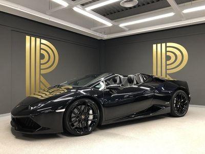 begagnad Lamborghini Huracán HuracánSpyder (610hk) Sv-såld / Branding Package