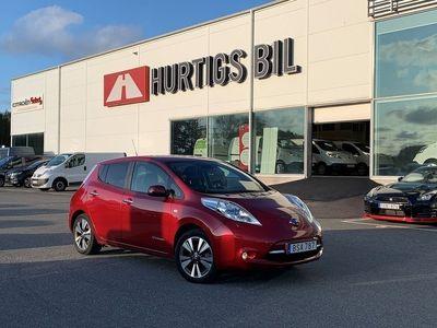 begagnad Nissan Leaf 30 kWh Tekna 100% El Vinterhjul -17