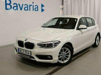 begagnad BMW 116 d 5-dörrars Automat HiFi Drag Motorvärmare