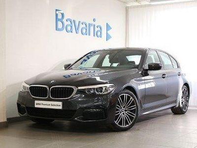 begagnad BMW 520 d xDrive Sedan M-Sport Connected Nav Drag Nypris 574 000