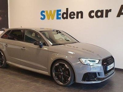 begagnad Audi RS3 Sv såld ATM steg1 470hk 1000:- i må