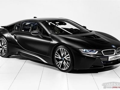 begagnad BMW i8 Protonic Frozen Black Edition