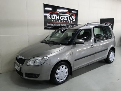 begagnad Skoda Roomster 1,6*AUTO*NYBES*NYSERVAD*
