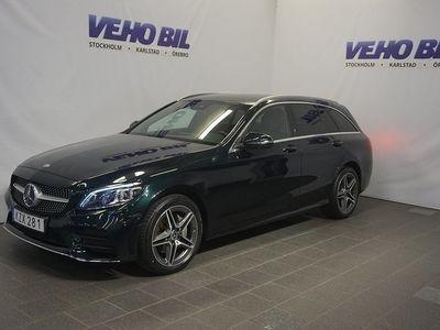 begagnad Mercedes 220 C4MATIC AMG Värmare Navi Drag 360-Kamera
