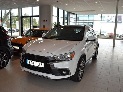 begagnad Mitsubishi ASX 2.2D 4WD Business / Drag (150hk)