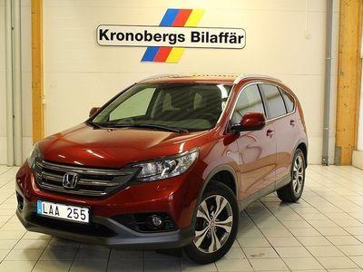 begagnad Honda CR-V 2.2 Lifestyle Dragkrok M-värmare 2013, SUV 229 900 kr