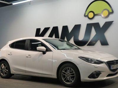 begagnad Mazda 3 2.0 120hk Automat Navi S&V-Hjul
