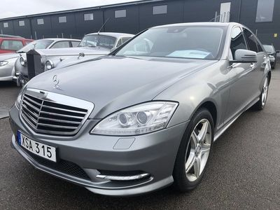 begagnad Mercedes S350 CDI 4MATIC BlueEFFICIENCY 7G-Tronic AMG Sport 235hk