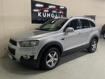 brugt Chevrolet Captiva 2.2d*AUTO*7sits*NYBES*NYSER -12