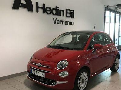 begagnad Fiat 500 1.2 69hk Lounge