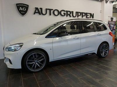 begagnad BMW 220 Gran Tourer d xDrive M-sport 7-Sits Se Spec