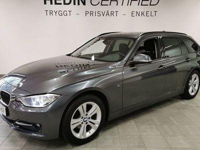 begagnad BMW 320 d xDrive Touring // Navigation // Drag // Vinterhjul