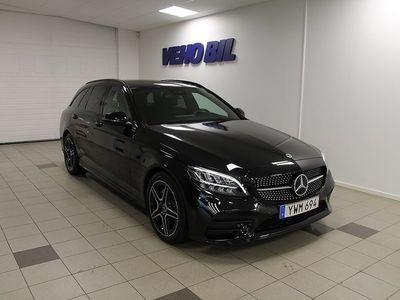 begagnad Mercedes C220 d Kombi AMG Navi Drag Burmester