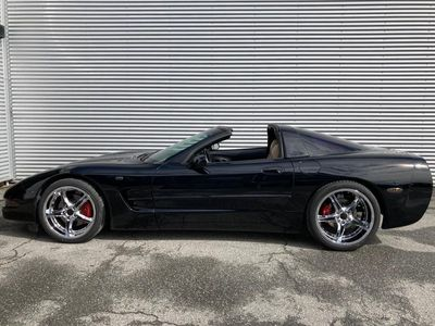 begagnad Corvette C5 Targa Z51 Black Edition
