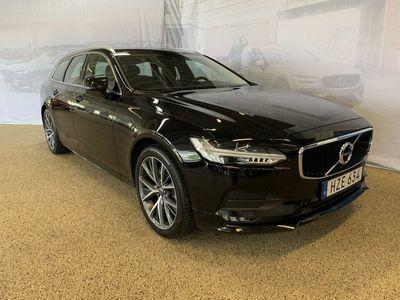 begagnad Volvo V90 T4 Momentum Advanced Edition, ader, On call, Dragkrok halvautomatisk, Panoramaglastak, Parkeringskamera bak, Navigation 2019, Kombi 309 500 kr