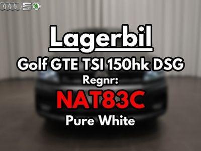 begagnad VW Golf GTE TSI Plug-In-Hybrid 150hk DSG
