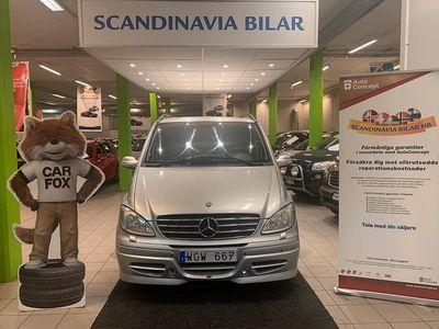 begagnad Mercedes Viano 2.2 Auto 8 SITS 150hk Drag