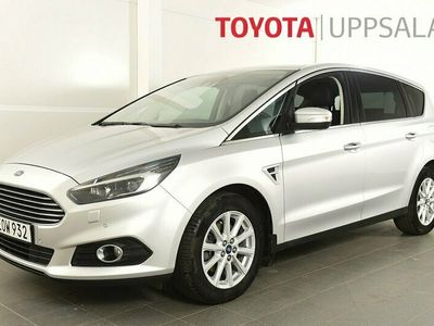 begagnad Ford S-MAX 2,0 TDCi Automat 7-sits Business Dragkrok GPS