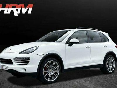 begagnad Porsche Cayenne Diesel TipTronic S / Panorama