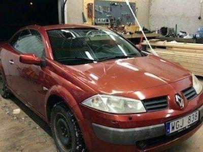 begagnad Renault Mégane Cabriolet