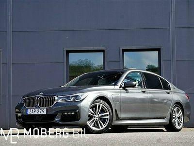 begagnad BMW 740 Le xDrive 326hk M Sport Pano B&W HUD