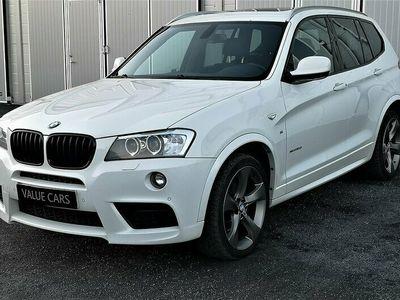 begagnad BMW X3 xDrive35d Steptronic M Sport 313hk Ny Servad