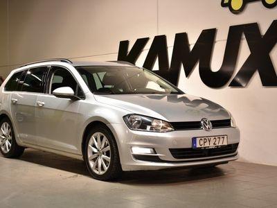 begagnad VW Golf Variant 2,0 TDI Aut Backkamera Drag S&V-hjul