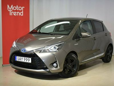 begagnad Toyota Yaris Hybrid 1.5 Elhybrid Executive S+V-Hjul